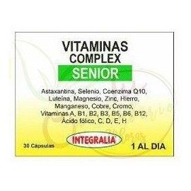 Vitaminas Complex Senior Integralia