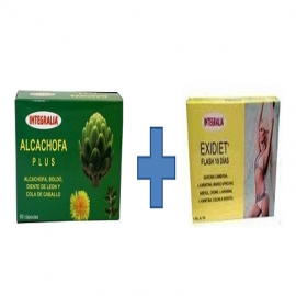 Pack Exidiet + Alcachofa plus