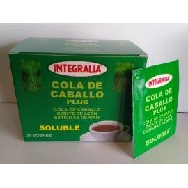 Cola de caballo plus 20 sobres Integralia