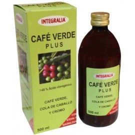 Cafe Verde Plus Jarabe 500 ml Integralia